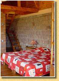 Bungalow chambre Camp Catta Madagascar
